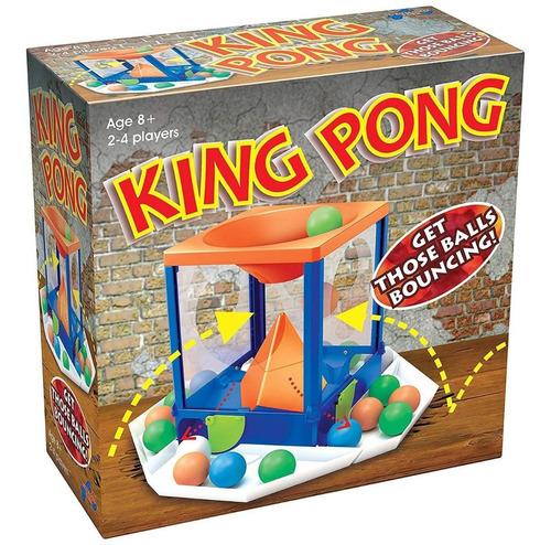 juego de mesa king pong emboca la pelotita next point tv