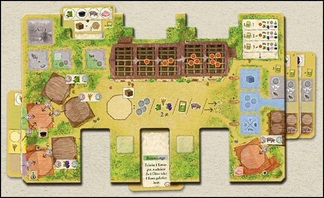 Juego De Mesa La Granja Board Game Nuevo Ingles Importado