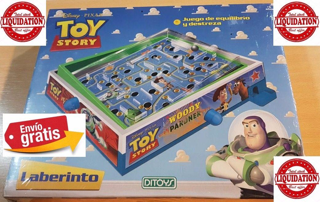Juego De Mesa Laberinto Toy Story Ditoys Envio Sin Cargo 615 89