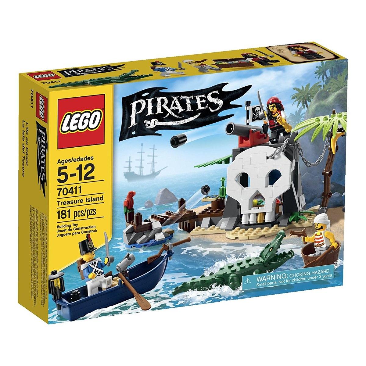 Juego De Mesa Lego Pirates Isla Del Tesoro 70411 3 257 12 En