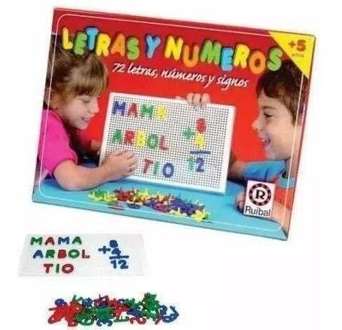 juego de mesa letras y numeros original ruibal