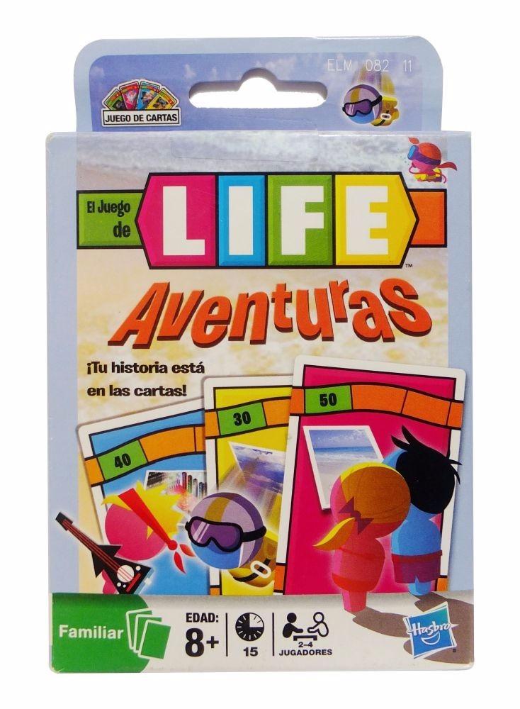 Juego De Mesa Life Aventuras Cartas Hasbro 75 00 En Mercado Libre
