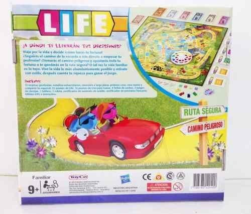 Juego De Mesa Life De Hasbro Divertido Bs 2 945 45 En Mercado Libre