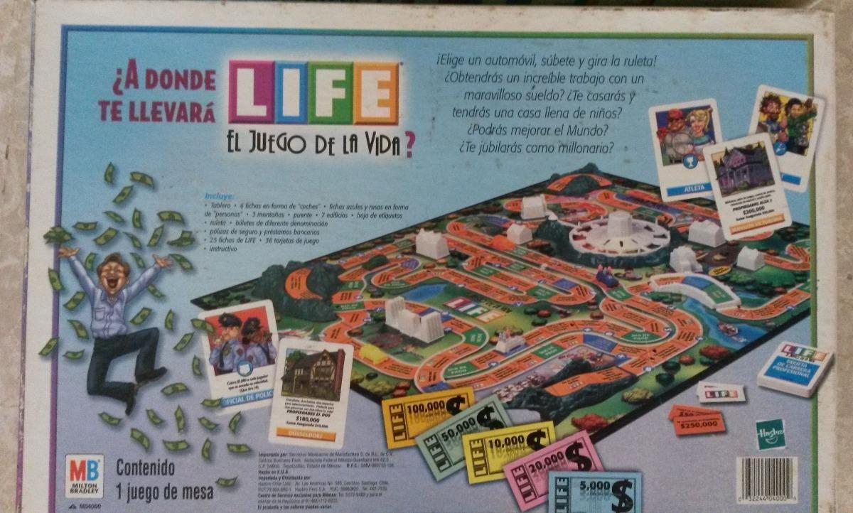 Juego De Mesa Life El Juego De La Vida Bs 8 909 90 En Mercado Libre