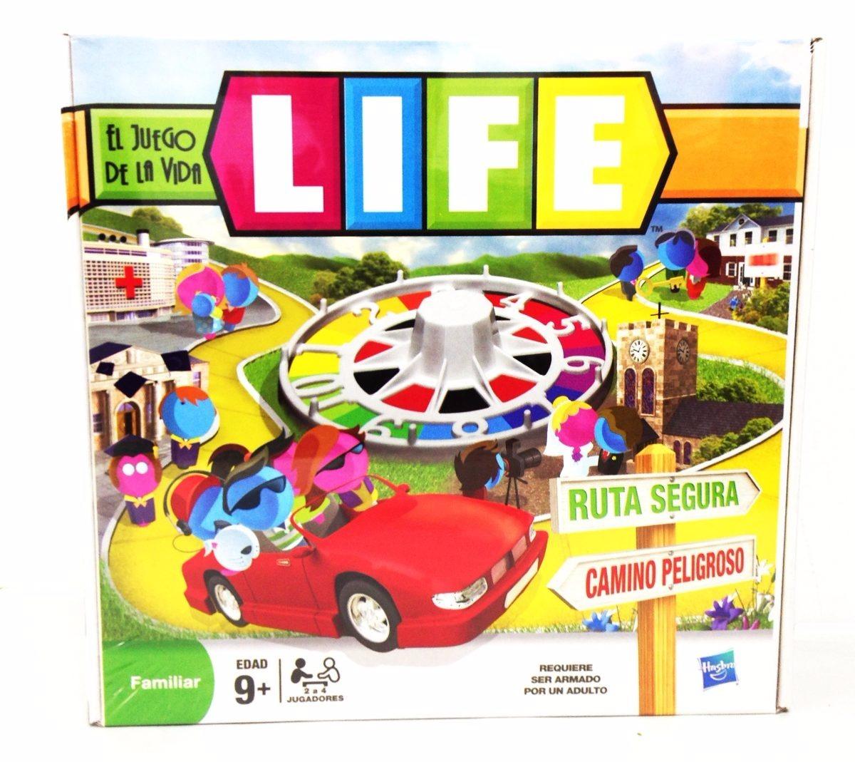 Juego De Mesa Life El Juego De La Vida Para Ninos Y Adultos
