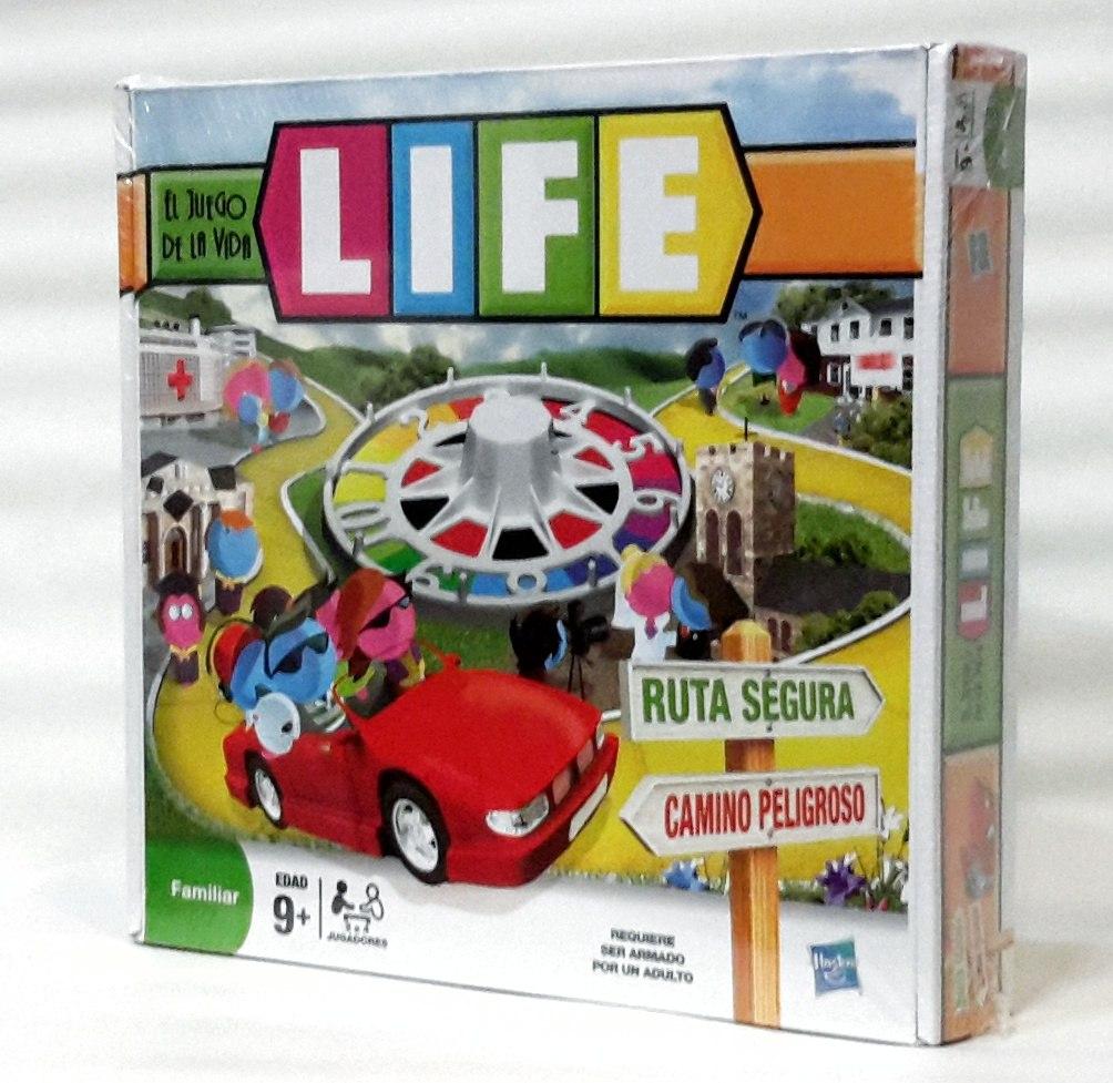 Juego De Mesa Life Juego De La Vida De Hasbro Familiar 1 299