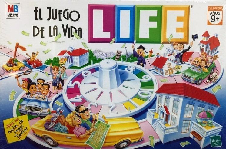 Juego De Mesa Life Juego De La Vida Original Hasbro 1 400 00 En