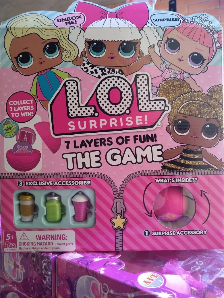Juego De Mesa Lol Surprise The Game Original 850 00 En Mercado
