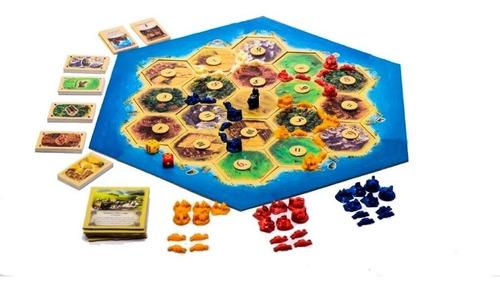 juego de mesa los colonos de catan original top toys lelab
