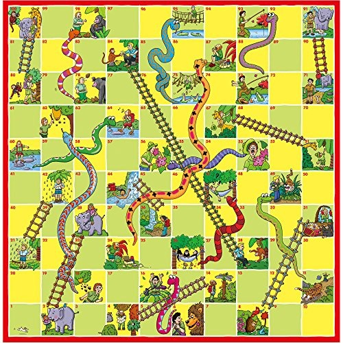 Juego De Mesa Ludo Serpientes Y Escaleras Version En Ingle