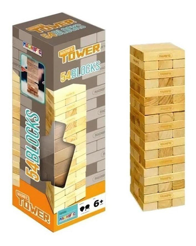 juego de mesa magnific tower jenga juego para toda familia