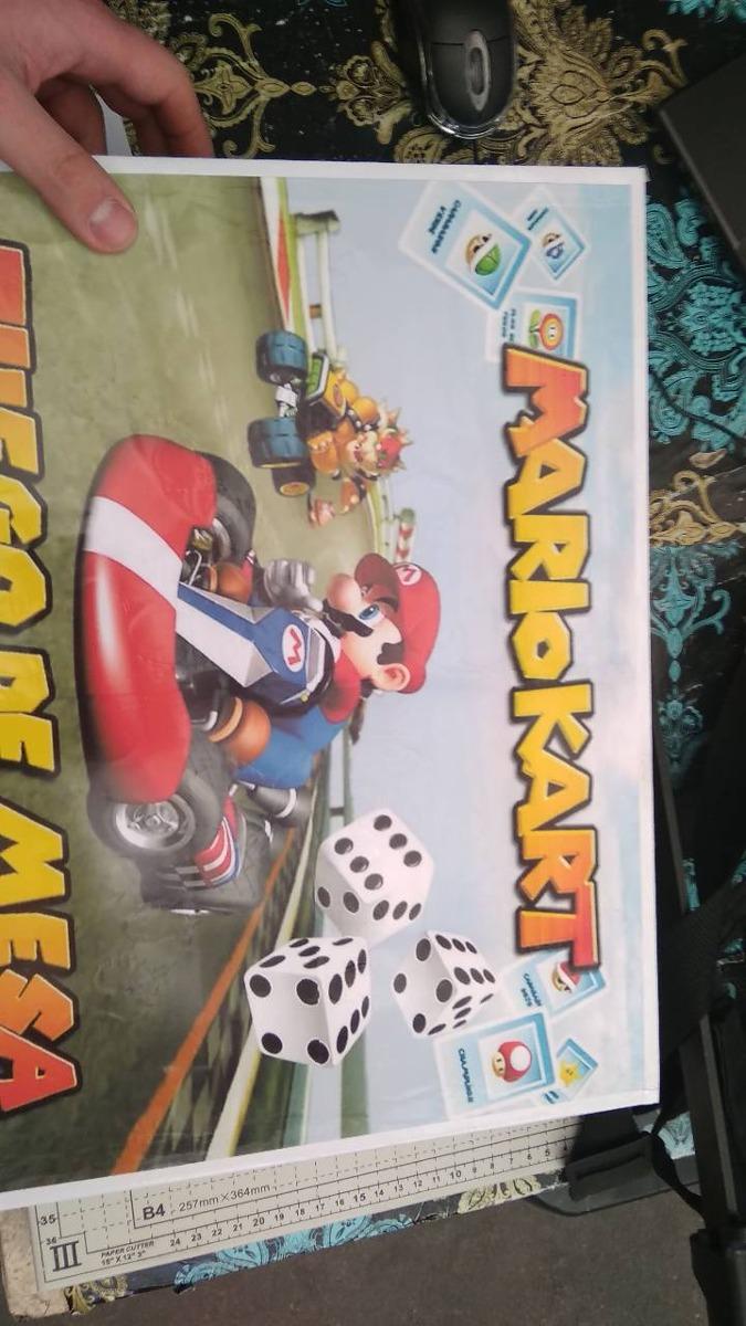 Juego De Mesa Mario Kart Para La Lectura Y Matematicas 40 000 En