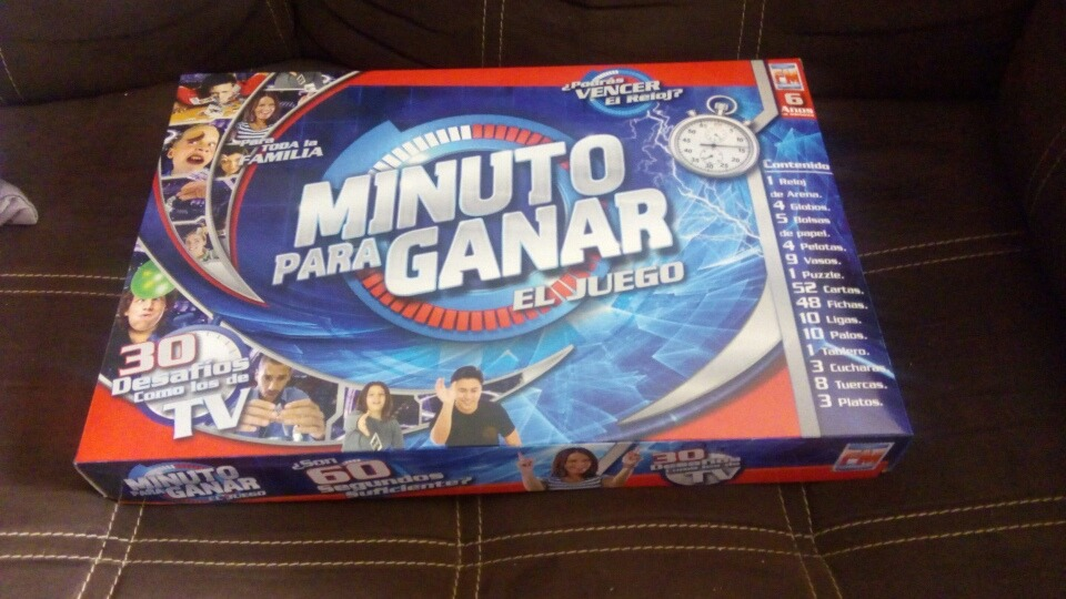 Juego De Mesa Minuto Para Ganar 350 00 En Mercado Libre