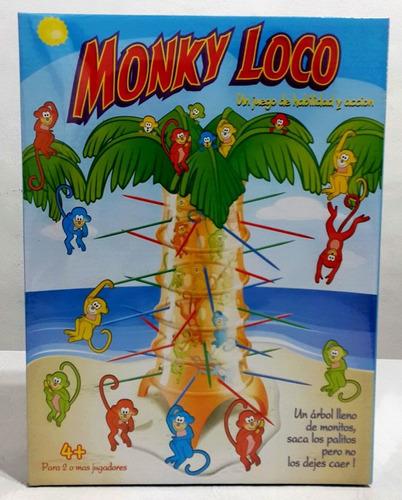 juego de mesa monky loco ditoys original tv zona oeste