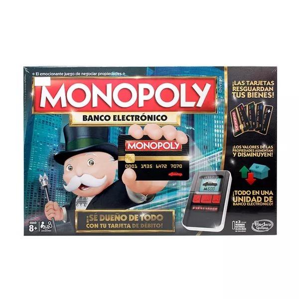 Juego De Mesa Monopolio Banco Electronico Ninos Familia 229 900