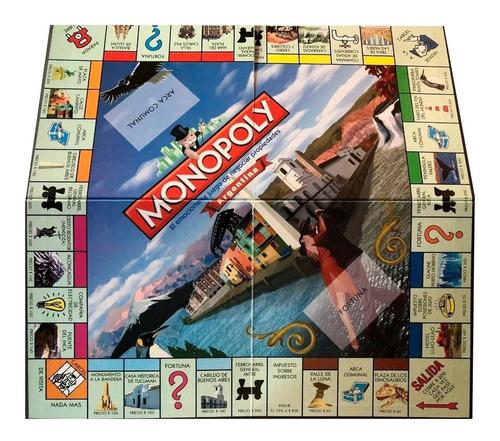 juego de mesa monopoly argentina piezas metálicas