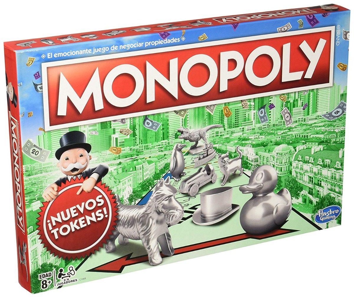 Juego De Mesa Monopoly Clasico 649 00 En Mercado Libre