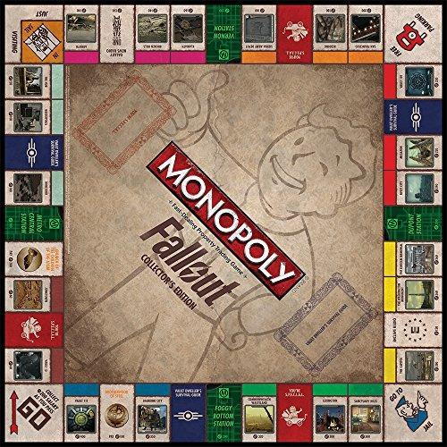 Juego De Mesa Monopoly Edicion Fallout Idioma Espanol No