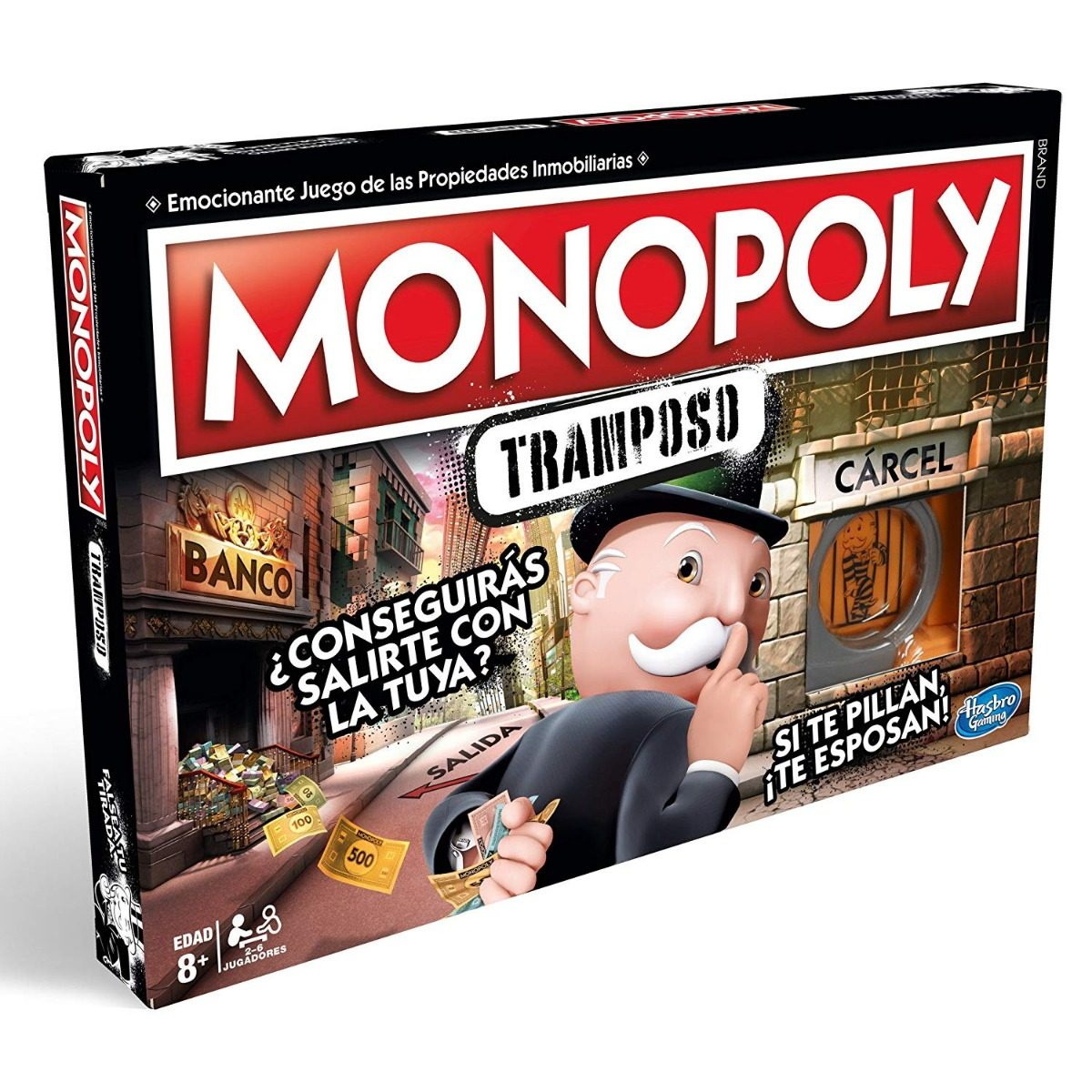 Juego De Mesa Monopoly Edicion Para Tramposos Hasbro Nuevo