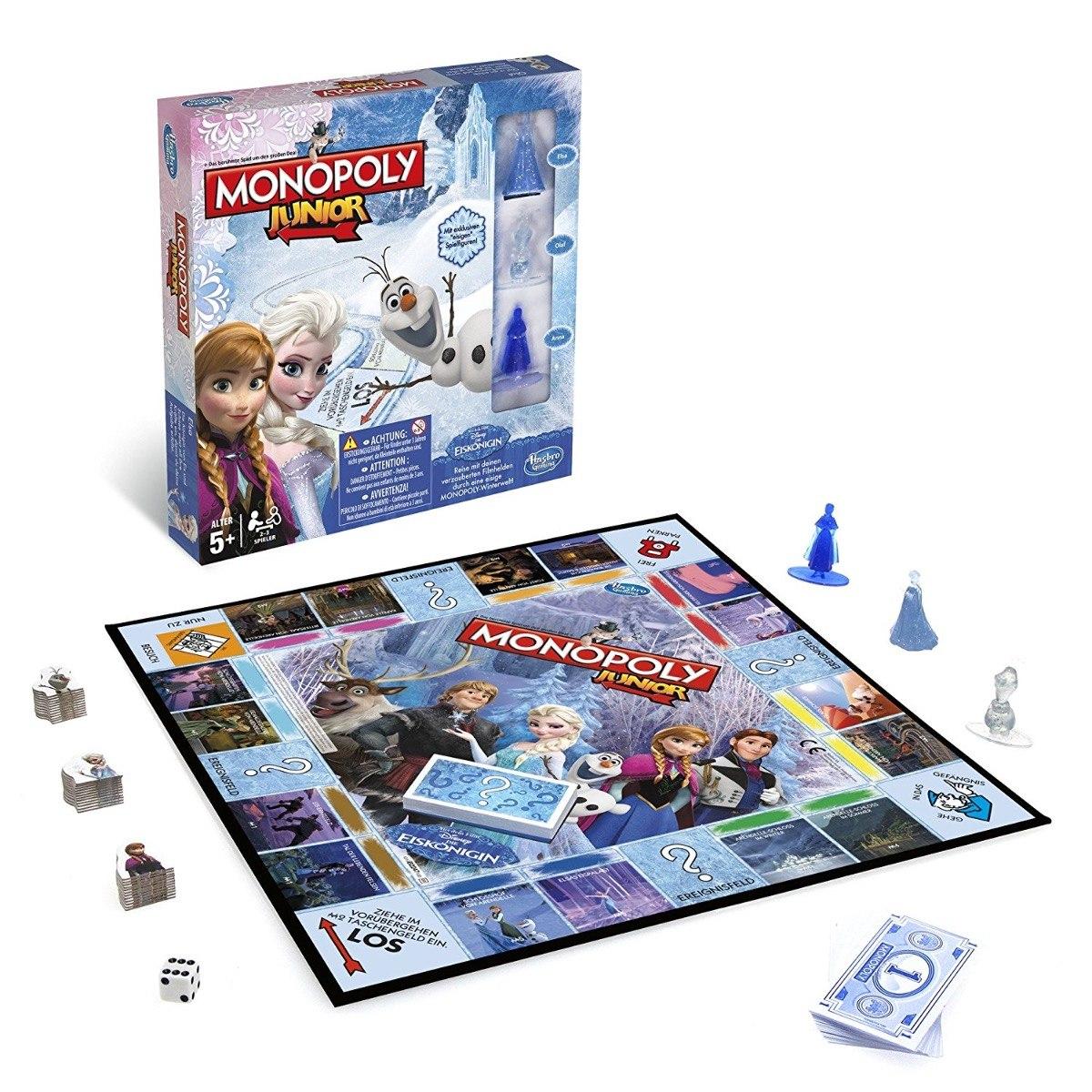 Juego De Mesa Monopoly Frozen Hasbro Nuevos 365 00 En Mercado Libre