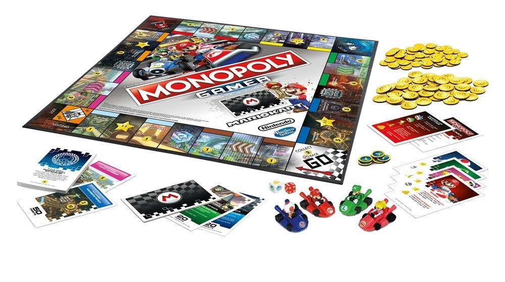Juego De Mesa Monopoly Gamer Mario Kart Hasbro E1870 749 00 En