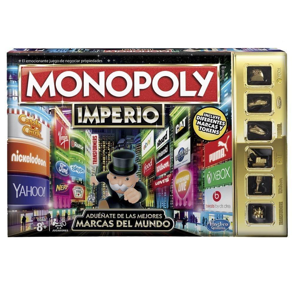 Juego De Mesa Monopoly Imperio Hasbro Para Ninos Y Adultos