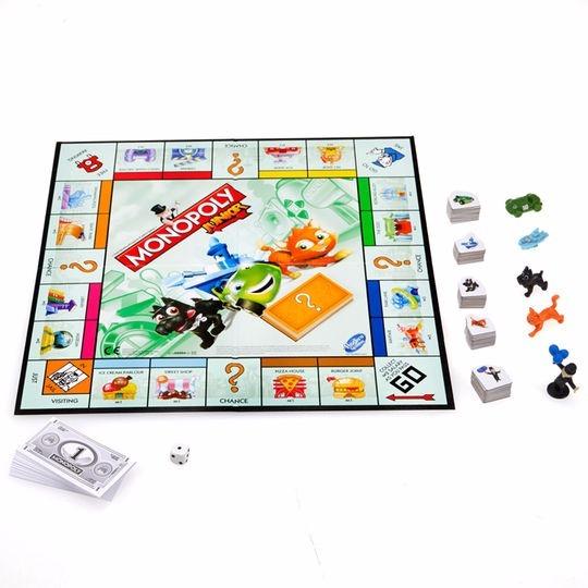 Juego De Mesa Monopoly Junior En Espanol Oferta 295 00 En
