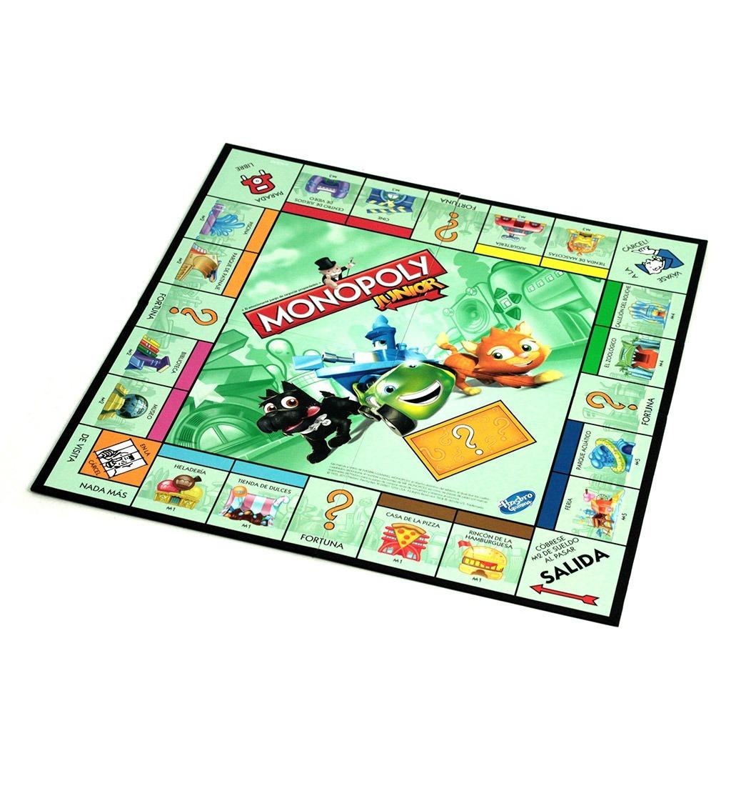 Hasbro Gaming Juego De Mesa Monopoly Junior A6984 Los Mejores