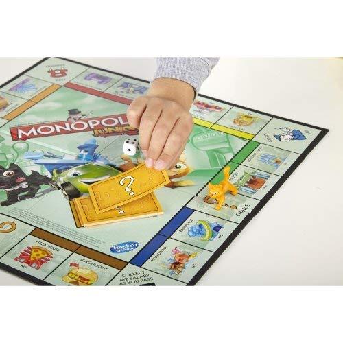 Juego De Mesa Monopoly Junior Multicolor Ninguno 1 114 00 En