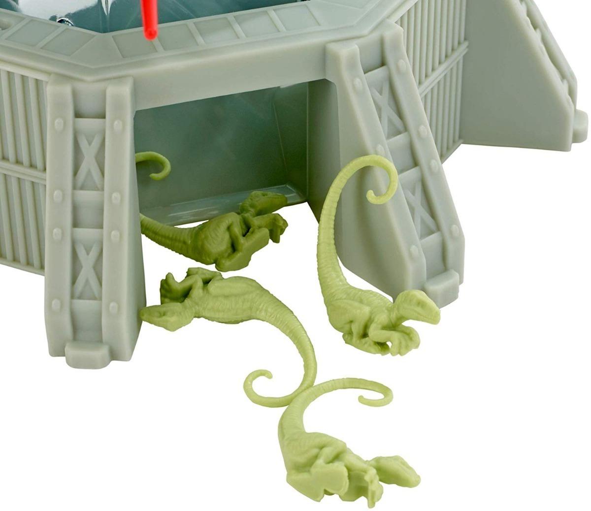 Juego De Mesa Monos Locos Mattel Raptores Jurassic Word 575 00