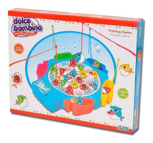 juego de mesa niños ditoys fishing game dolce bambino