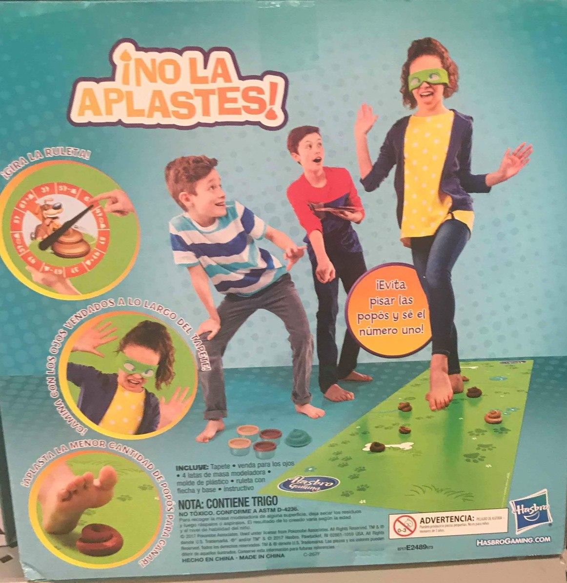 Juego De Mesa No La Aplastes De Hasbro Gaming Envio Gratis