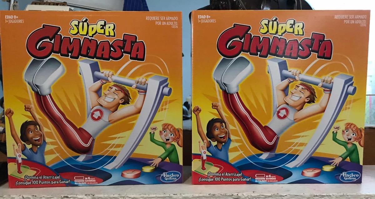 Juego De Mesa Oferta Hasbro Gaming Super Gimnasta 399 00 En