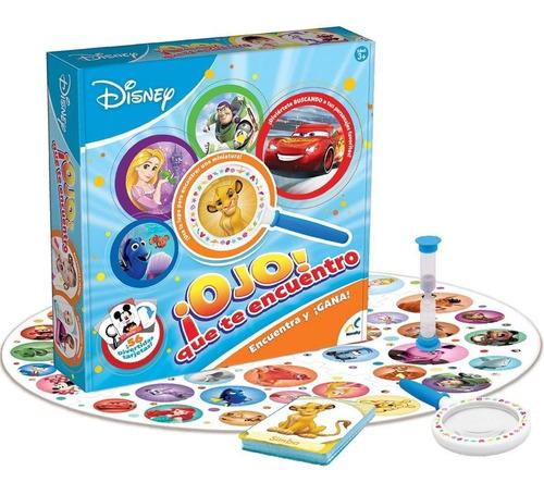 juego de mesa ojo que te encuentro disney familia novelty