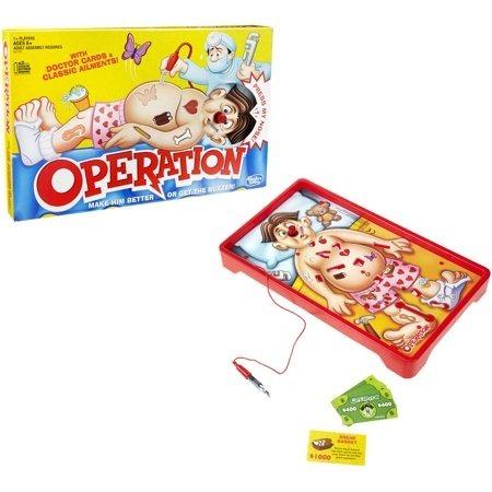 Juego De Mesa Operando De Hasbro