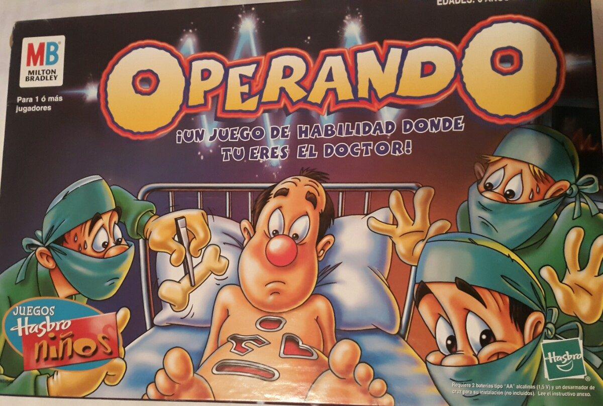 Juego De Mesa Operando Hasbro