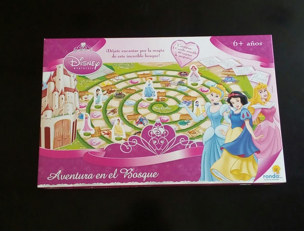 Juego De Mesa Para Ninas De Princesas Disney 6 Jugadores Bs 7 500