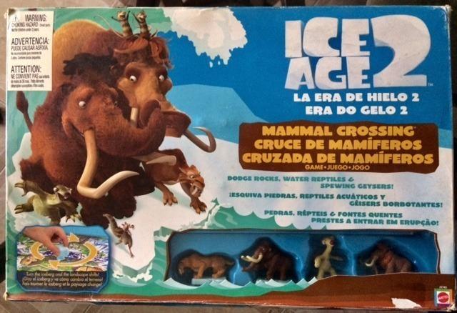 Juego De Mesa Para Ninos La Era Del Hielo Animales Mattel Bs 120