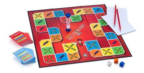 juego de mesa pictionary junior dibujos rapidos ruibal cadia