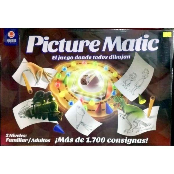 Juego De Mesa Picture Matic Habano Familiar 88472 465 00 En