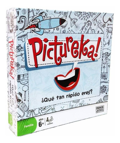 juego de mesa pictureka ! envio full  (3706)