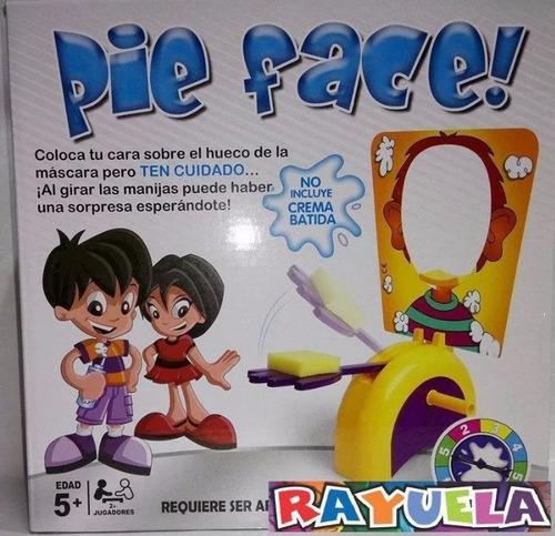 juego de mesa pie face, pastelazo, tortazo ath yj112