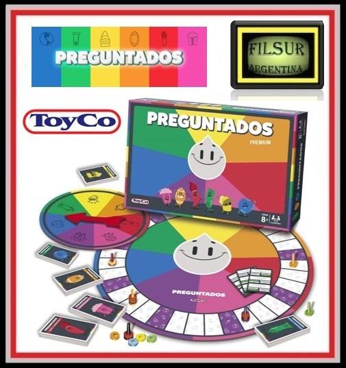 Juego De Mesa Preguntados Premium Original Toyco Tv Filsur 525