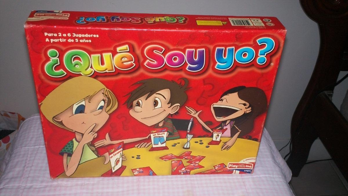 Juego De Mesa Quien Soy Yo Bs 2 000 00 En Mercado Libre