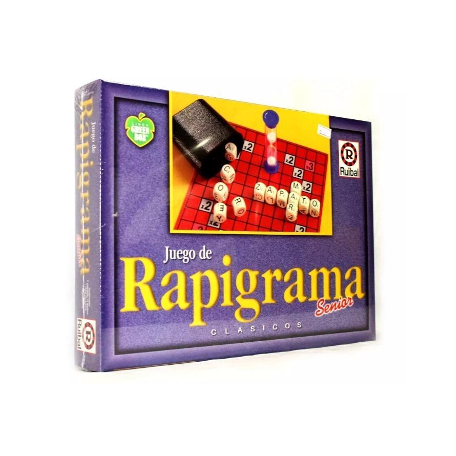 Juego De Mesa Rapigrama Senior Arma Palabras Ruibal 349 90 En