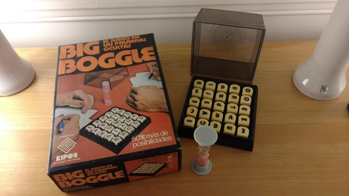 Juego De Mesa Retro Big Boogle De Kipo S 4 000 00 En Mercado Libre