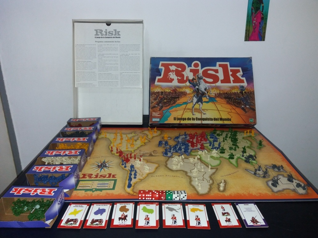 Juego De Mesa Risk Bs 8 000 00 En Mercado Libre