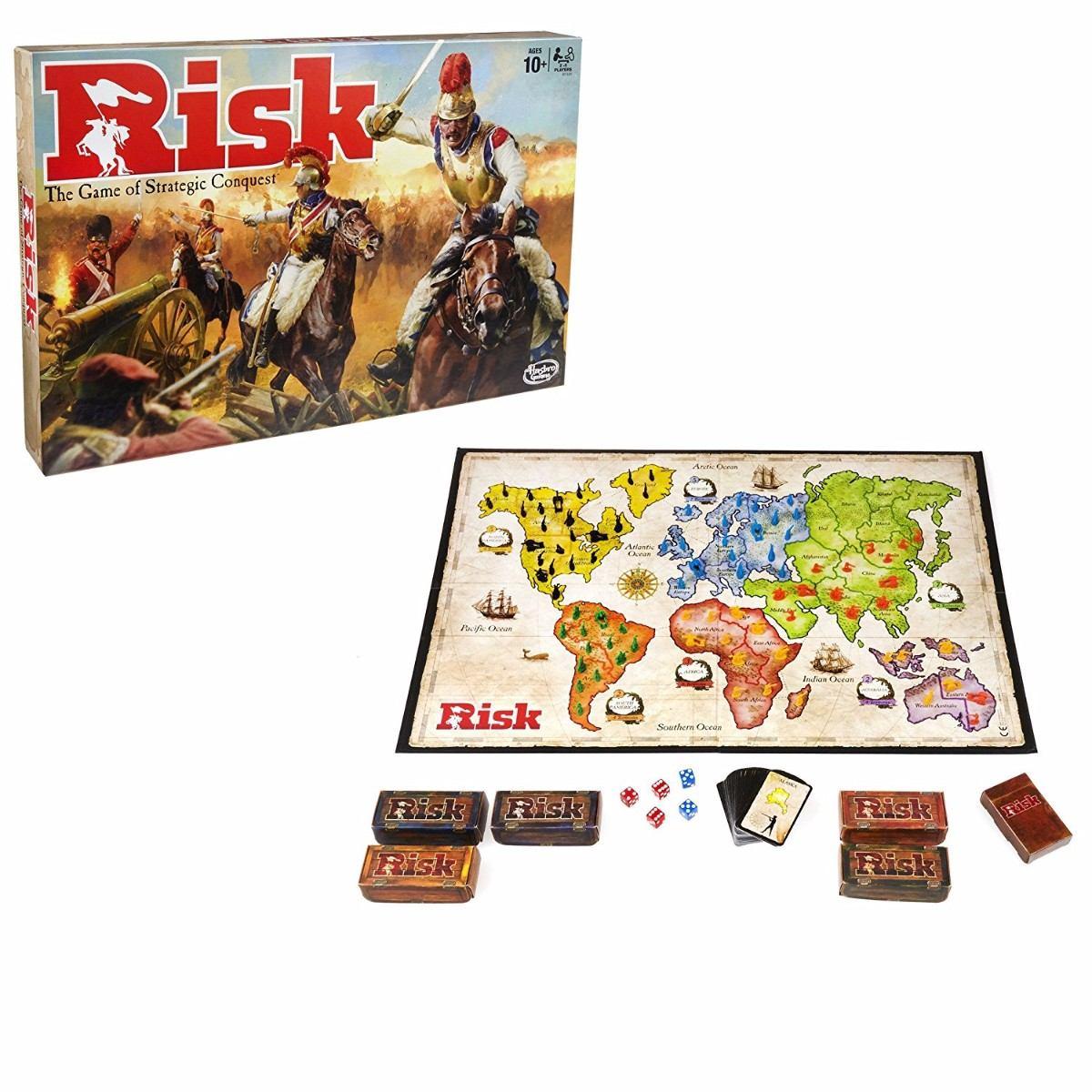 Juego De Mesa Risk Hasbro B7404 185 000 En Mercado Libre