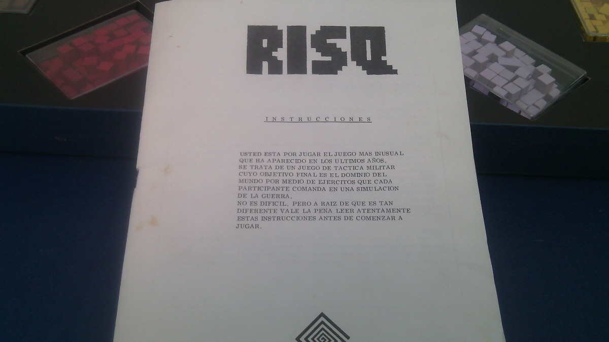 Juego De Mesa Risq Tactica Militar Kipos 540 00 En Mercado Libre