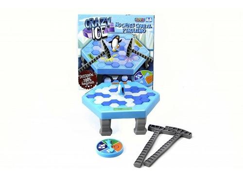 juego de mesa rompe hielo pinguino crazy ice economico